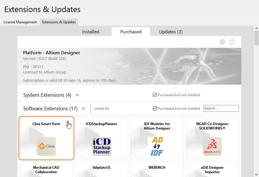 Configuring Ciiva SmartParts in Altium Designer   Online